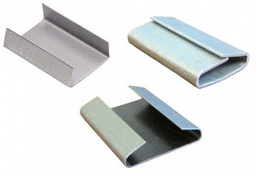 Sellos para flejes de acero y flejes de plastico